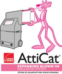 Los Gatos AttiCat® Insulation Blowing Machine!