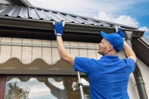 Danville roofing pros repair gutters