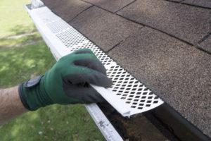 Danville roofing gutter guards