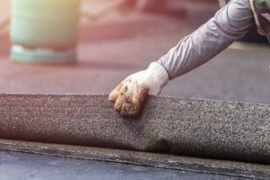 San Jose roofing contractors install flat roofing